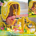 Decorated Rickshaw for Bride & Groom Entry