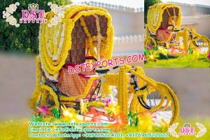 Decorated Rickshaw for Bride & Groom Entry