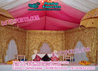 Indian Wedding Arch Type Backdrop Curtains