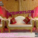 Indian Wedding Stage Furniture Set