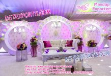 Nigerian Wedding Stage Decoration