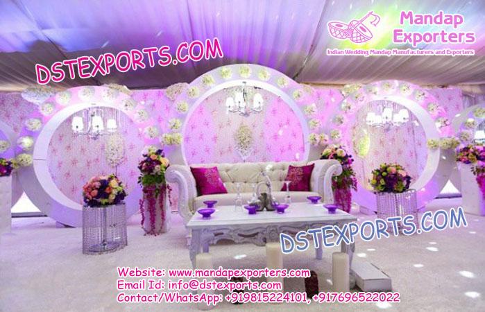 Nigerian Wedding Stage Decoration