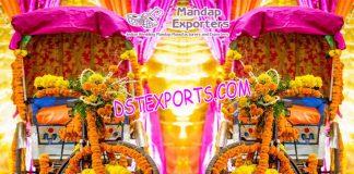 Rickshaw Decoration for bride groom entry idea
