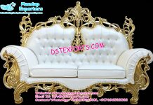 Two Seater Indian Wedding Stage Sofa