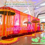 Wedding Hall Entrance Decoration With Umbrellas