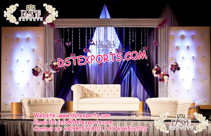 Tremendous Latest Wedding Stage Sofa Set With Auto Mans Mandap Exporters Forskolin Free Trial Chair Design Images Forskolin Free Trialorg
