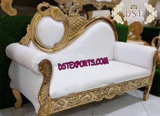 Asian Wedding Peacock Style Sofa
