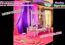 Sankheda Swing Set for Mehandi Stage Decoration