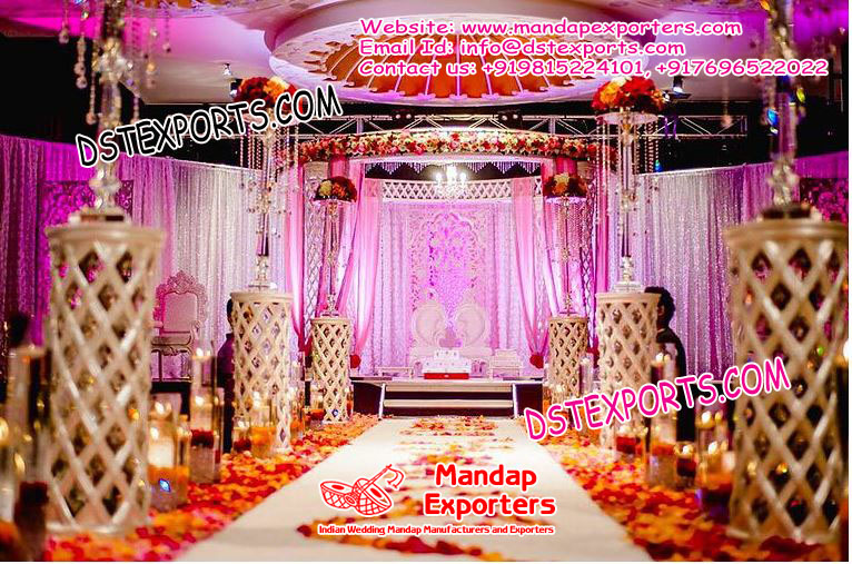 Wedding Mandap Walkway Area