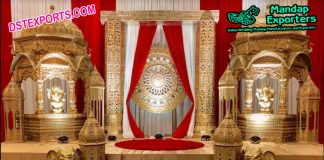 Antiquated Maharaja Wedding Stage
