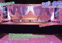 Best Reception Wedding Stage Decoration