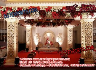 Bollywood Hindu Wedding Mandap Set