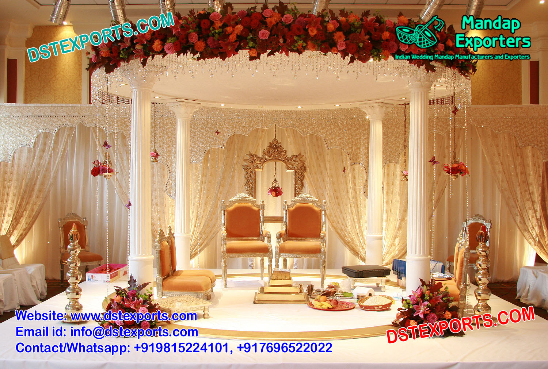 Buy Gorgeous Hindu Wedding Mandap Set Mandap Exporters
