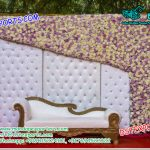 English Wedding Leather Tufted Panels