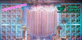 Exclusive Wedding Candle Wall Decoration