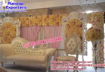 Glamorous Wedding Stage Decorations