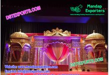 Grand Jodha Akbar Wedding Stage Set