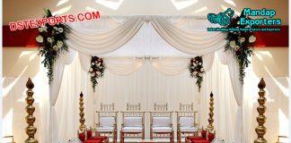 Indian Wedding Mandap Sankheda Chairs