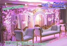 Latest Wedding Flower Wall Backdrops