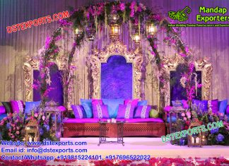 Moroccan Theme Mehndi Stage Decoration