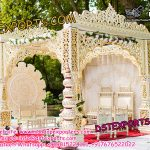 Open Bollywood Indian Wedding Mandap