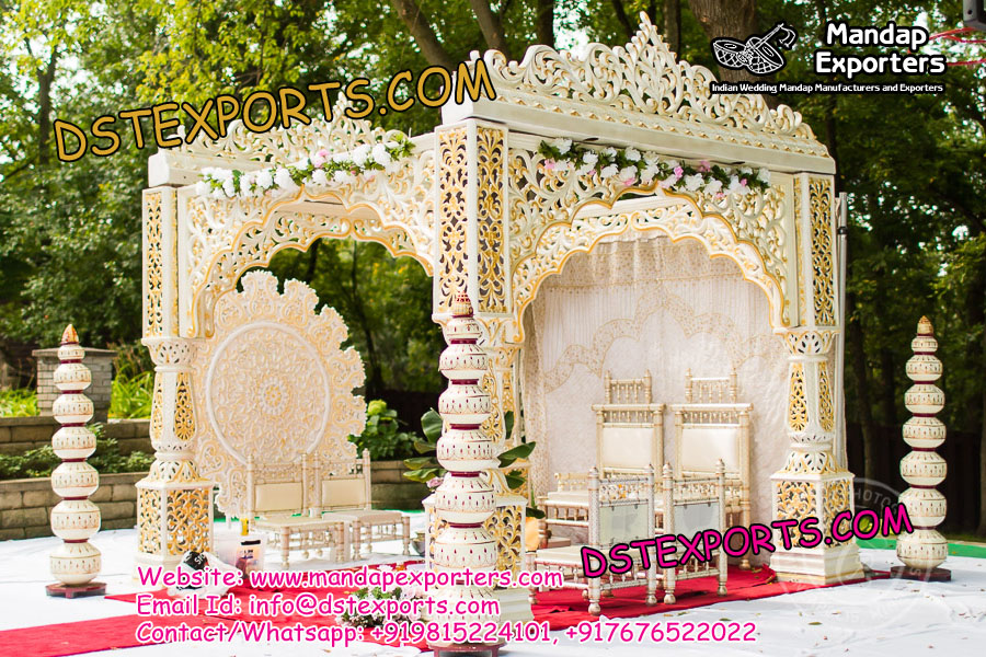 Open Bollywood Indian Wedding Mandap