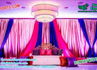 Prominent Wedding Mehndi Stage Decoration