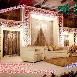Prominent Wedding Stage Fiber panels