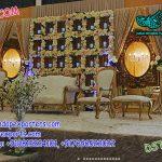Stunning Flower Wall Wedding Stage