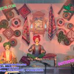 Traditional Rajasthani Theme Fiberglass Statues