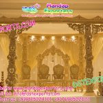 New Trending Hindu Wedding Wooden Carved Mandap