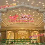 Wooden Wedding Mandap Welcome Gate