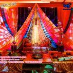 Arabian Style Mehndi Night Stage
