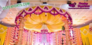 Buy Exclusive wedding Fiber Carved Mandap