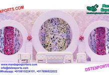 Buy Flower Wall With Round Panels
