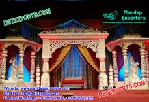 Conventional Designed Wedding Stage Set