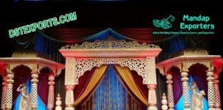 Conventional Designed Wedding Stage Set