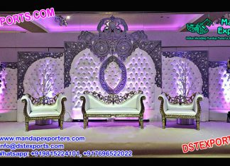 English Wedding Leather Tufted Panels For Sale