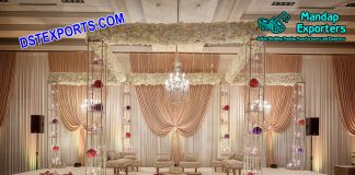 Exclusive Designed Crystal Wedding Mandap for Sale