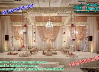 Exclusive Designed Crystal Wedding Mandap for Sale
