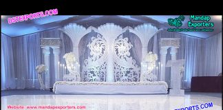 Exclusive Wedding Stage Set Decoration