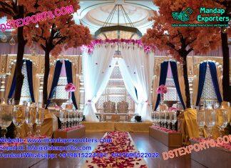 Famous Wedding Reception Stage Decoration