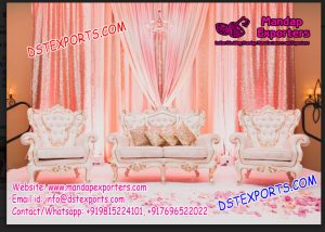 Gorgeous Western Wedding Sofa Set