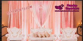 Gorgeous Western Wedding Sofa Set