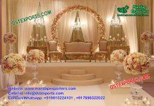 Grand American Wedding Stage Decoration