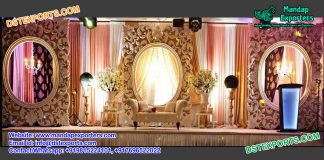 Grand Asian Wedding Backstage Square Fiber Panels