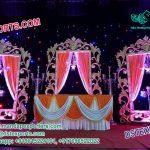 Grand Wedding Stage Backstage Panels Decoration
