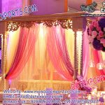 Islamic Nikah Wooden Stage Set