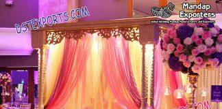 Islamic Nikah Wooden Stage Set