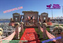 Latest Bollywood Style Wedding Mandap Set